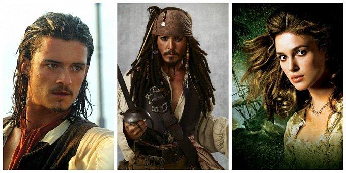Pirátům z Karibiku je 14 let: Jak se změnili Jack, Elizabeth a Will?