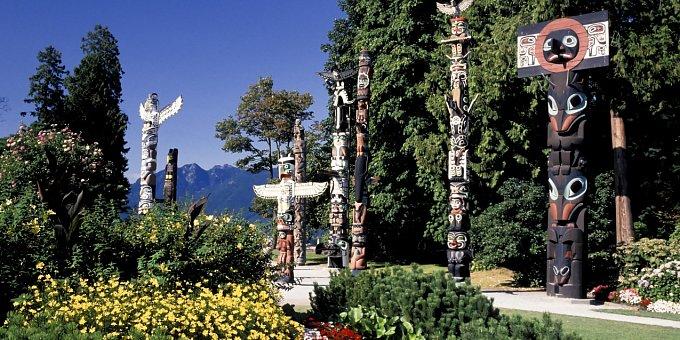 Totemy z Vancouveru