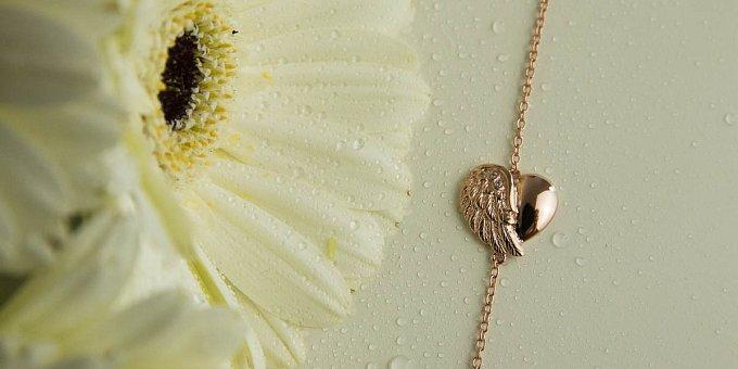 Šperky z lásky: srdce a křídla andělů