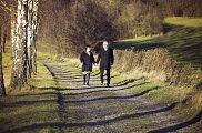 Manželé Drahošovi mají rádi přírodu a procházky