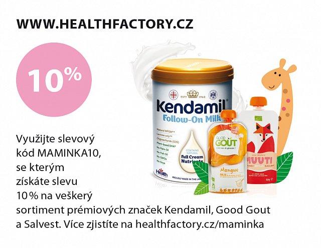 Obrázek kupónu - Healthfactory