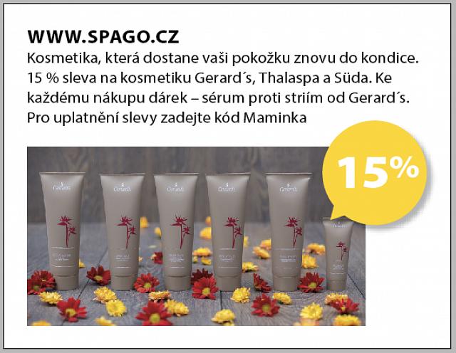 Obrázek kupónu - WWW.SPAGO.CZ
