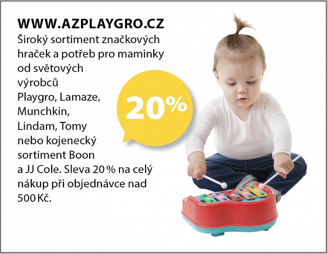 Obrázek kupónu - WWW.AZPLAYGRO.CZ