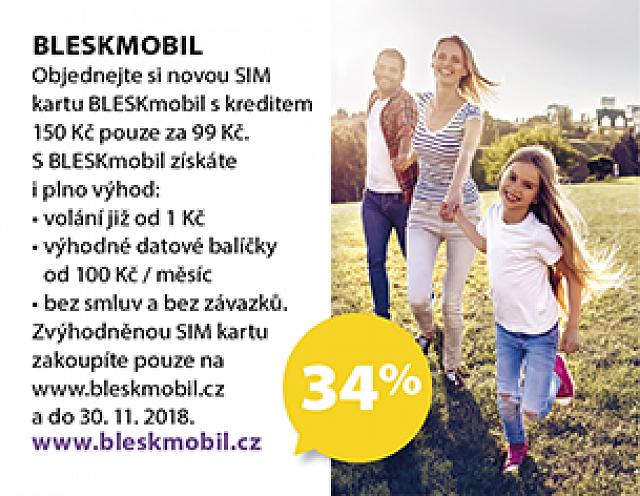 Obrázek kupónu - BLESKmobil