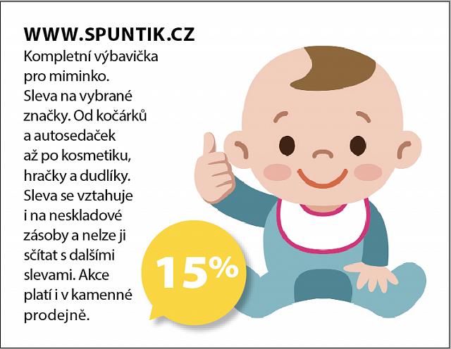 Obrázek kupónu - WWW.SPUNTIK.CZ