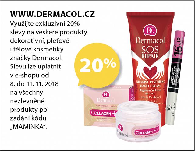 Obrázek kupónu - WWW.DERMACOL.CZ