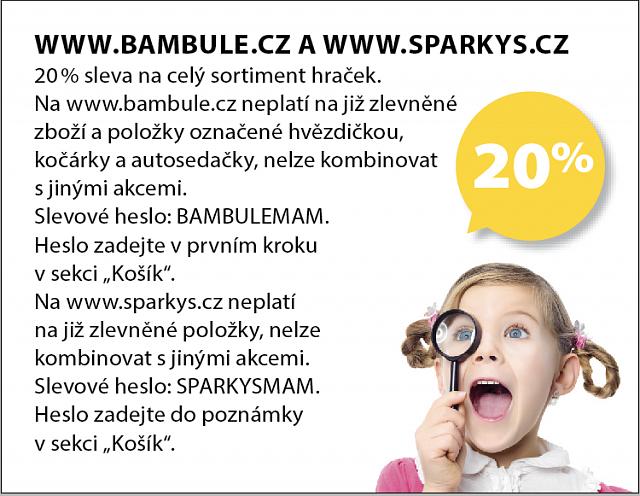 Obrázek kupónu - WWW.SPARKYS.CZ