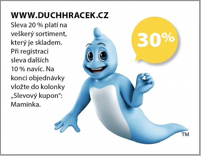 Obrázek kupónu - WWW.DUCHHRACEK.CZ