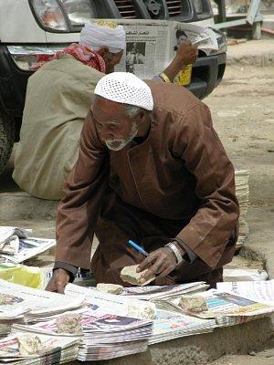 Prodavač novin