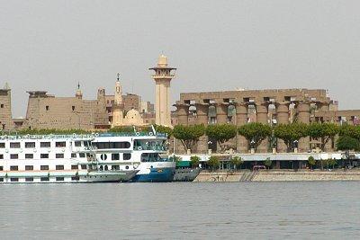 Loď na Nilu