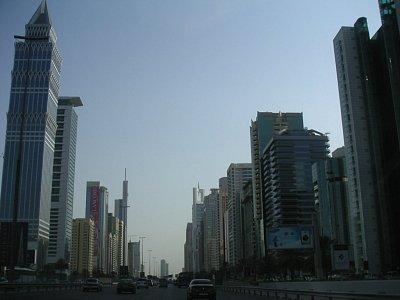 Ulice v Dubaii