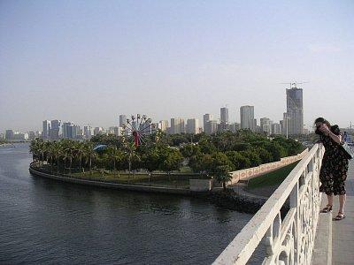 Pohled z mostu