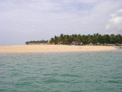 Pláž v Maceio