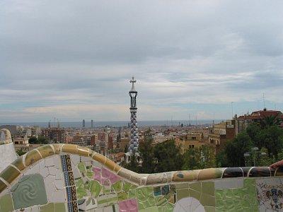Gaudího nejdelší lavička na světě
