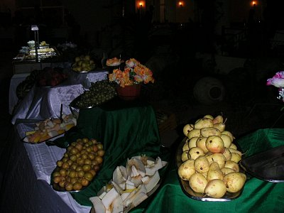 Bohatá ovocná tabule