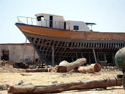 Rozestavěná loď