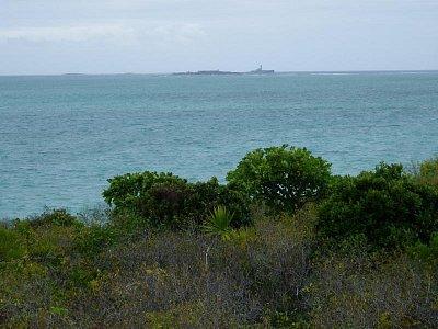 Výhled na ostrov Ile de la Passe