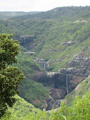 Kaskády vodopádů Tamarin