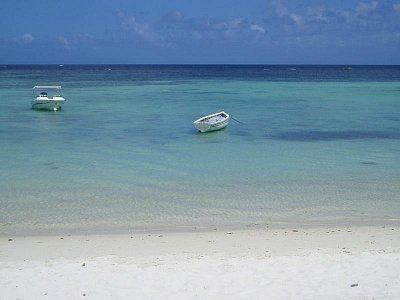 Pláž v Trou aux Biches