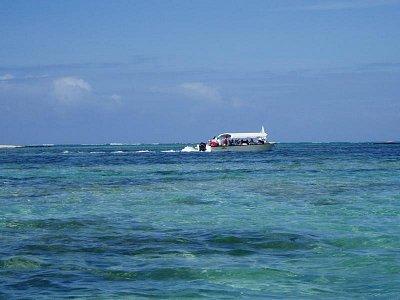 ostrov Ile Aux Cerfs