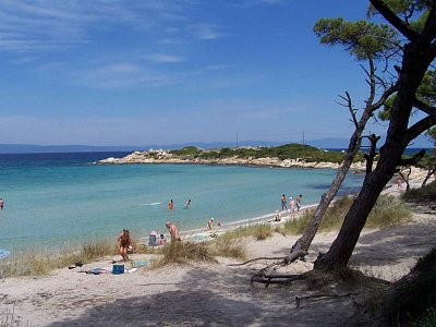 Chalkidiki Sithonia pláž Karidi  (nahrál: serfig)