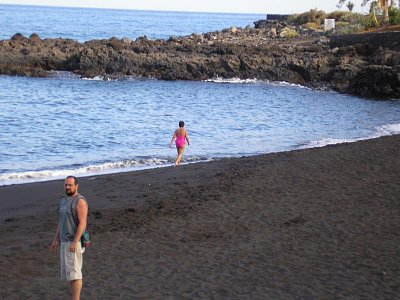 Pláž na La Palma
