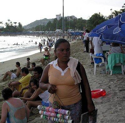 Plážový prodej bižuterie (nahrál: admin2)