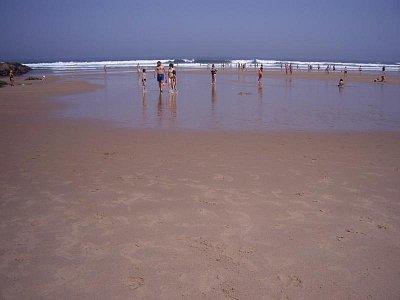 Krásná pláž v Zambujeira do Mar