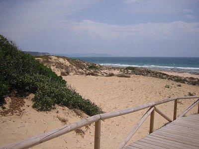 pláž v Caňos de Meca (nahrál: admin2)