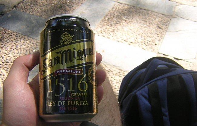 Španělské pivo