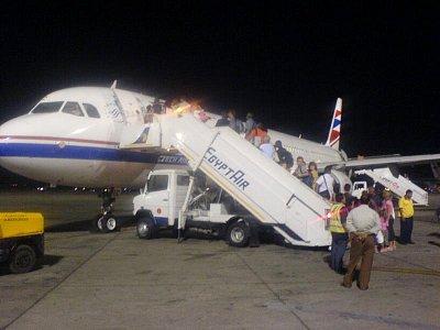 Nastup do letadla - Hurgháda (nahrál: pepíno)