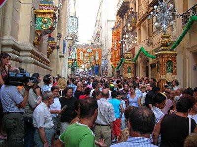Největší množství Malťanů se schází u příležitosti festy