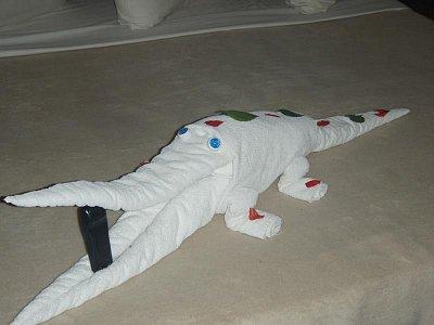 Krokodýl z ručníku (nahrál: Ctirad)
