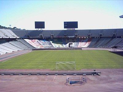 Montjuic-olympijský stadion