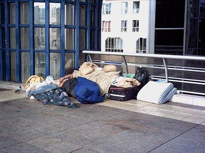 bezdomovec v Des Halles (nahrál: slávka)