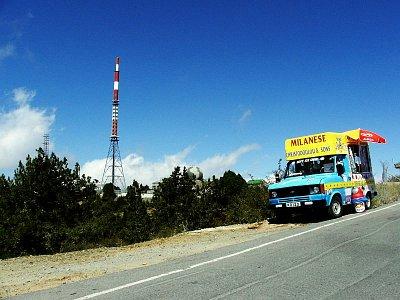 Nejvyšší vrchol ostrova - Olympos (nahrál: vsv)