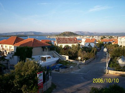 Městečko - Městečko Murter na ostrově Murter