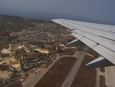 Pohled z letadla (nahrál: Radka Mihulova)