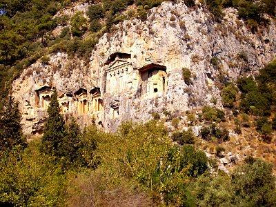 Hrobky - Turecko září 2007 (nahrál: Jetuka)