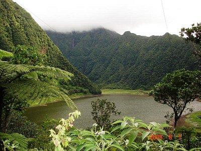 pohled na jezero Le Grand Étang (nahrál: admin)