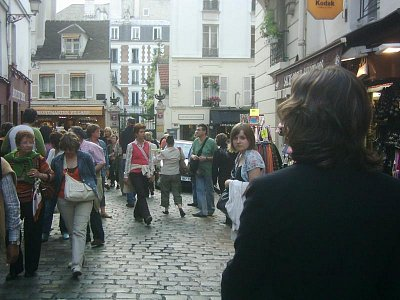 Ulice Montmartru (nahrál: Markéta )
