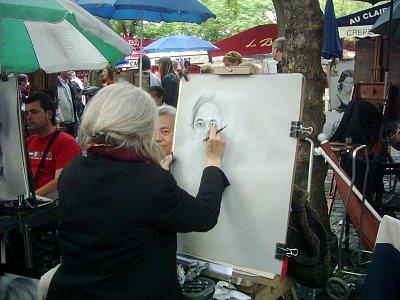 pouliční malíři (nahrál: Markéta )