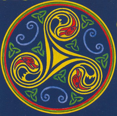Triskel, symbol Bretaně (nahrál: admin)