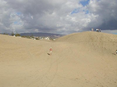 Duny v Maspalomas (nahrál: Slávek)