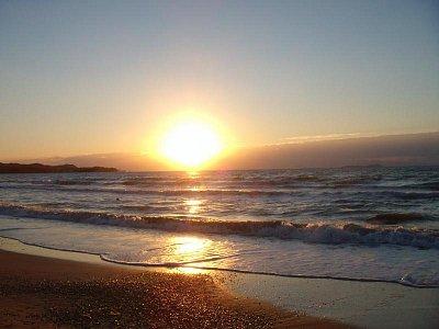 Acharavi-pláž - západ slunce (nahrál: Jana Náplavová  )