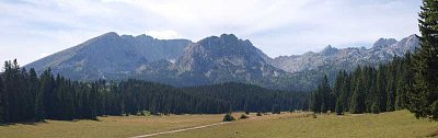 Horské panorama Durmitoru (nahrál: admin)