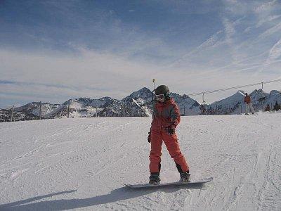 jízda na snowboardu (nahrál: admin)