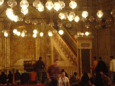 Uvnotř alabastrové mešity (nahrál: lovenka13-Bára)