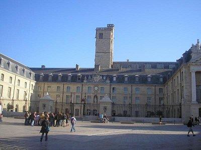 Vévodský palác v Dijonu (nahrál: Lucie Tichá)