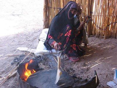beduínka (nahrál: dagbul)